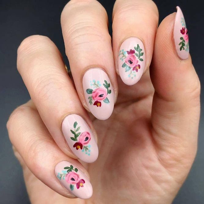 Daneloo | Nail designs spring, Spring nail colors, Cute spring nai
