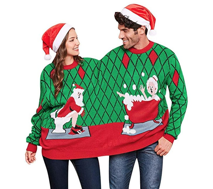 Ugly Christmas Sweaters For Couples to Buy | POPSUGAR Love & S