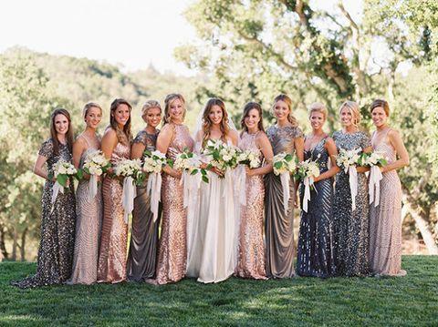 Unique bridesmaid dress ideas for ballsy brid