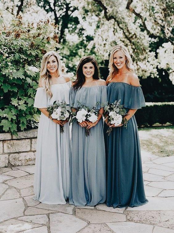 Unique Bridesmaid Dress Options | La Cosa Bella Events | Wedding .