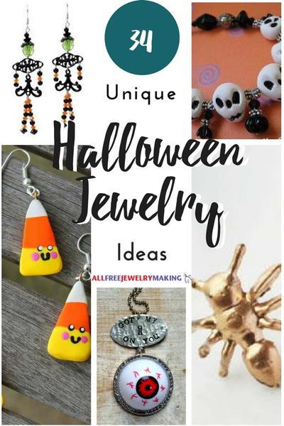34 Unique Halloween Jewelry Ideas | AllFreeJewelryMaking.c