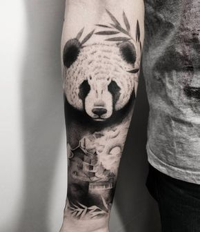 27 Perfect Panda Tattoo Designs | Panda tattoo, Panda bear tattoos .