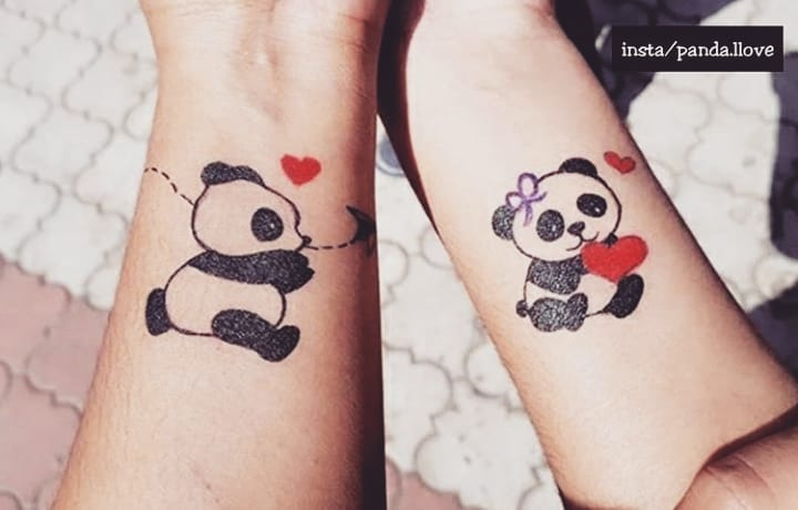40 Irresistibly Unique Panda Bear Tattoo Ideas to Steal the .