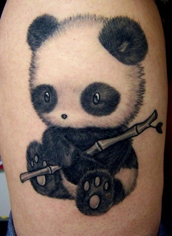 Panda Bear Tattoo Ideas: Unique Panda Bear Tattoo Ideas ~ Tattoo .
