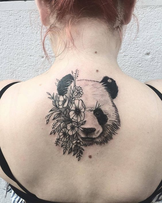 110 Irresistibly Unique Panda Bear Tattoo Ideas to Steal the Limelig