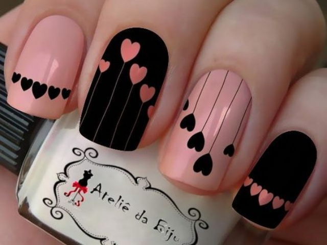 37 Cute and Easy Valentine's Day Nail Art Designs and Ideas .