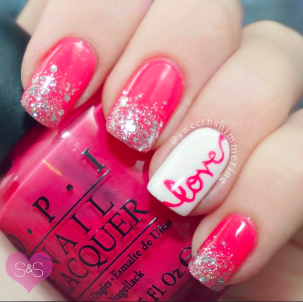 16 Valentine's Day Nail Art Designs to Fall in Love with .