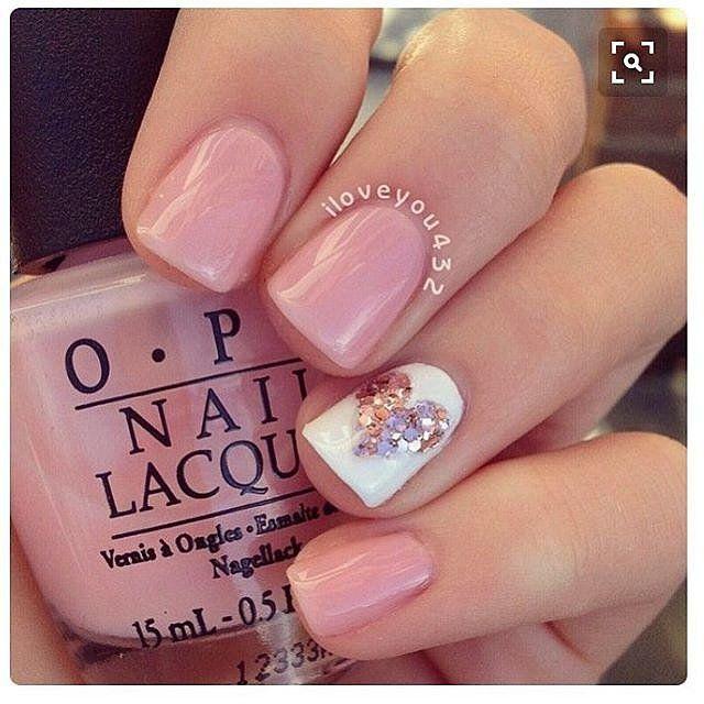 100 Crush-Worthy Valentine's Day Nail Art Ideas | Valentines nails .