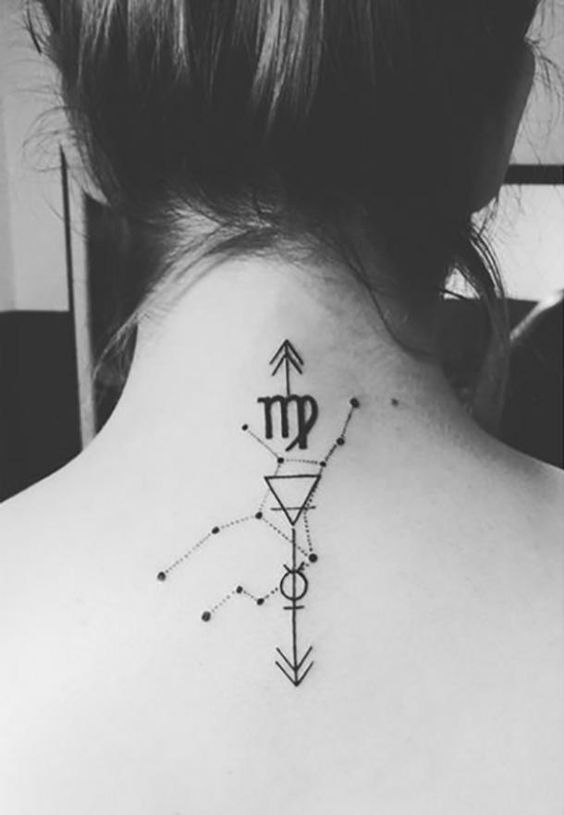21 Chic Virgo Tattoos That'll Satisfy Your Inner Perfectionist | I .