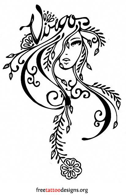 Virgo Tattoos | 50 Designs And Ideas | Virgo tattoo, Virgo tattoo .