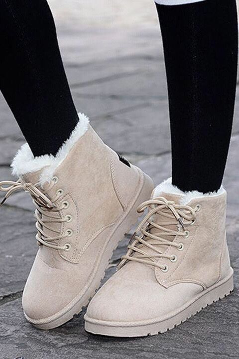 Ankle Boots For Women Casual Winter Snow Boot in 2020 | Winter .