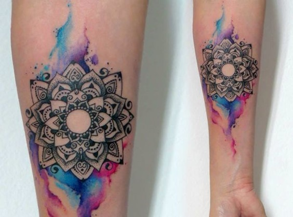 100 Watercolor Tattoos that Perfectly Replicate the Medi