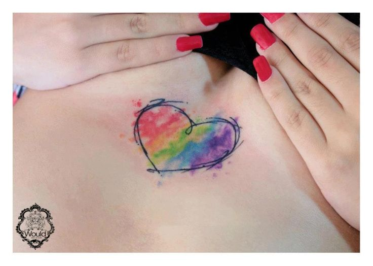 Top 15 Beauty Small-Size Watercolor Tattoos – Daily Cute Style .