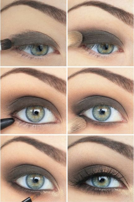 12 Amazing Makeup Tutorials For Green Eyes - Pretty Designs | Eye .