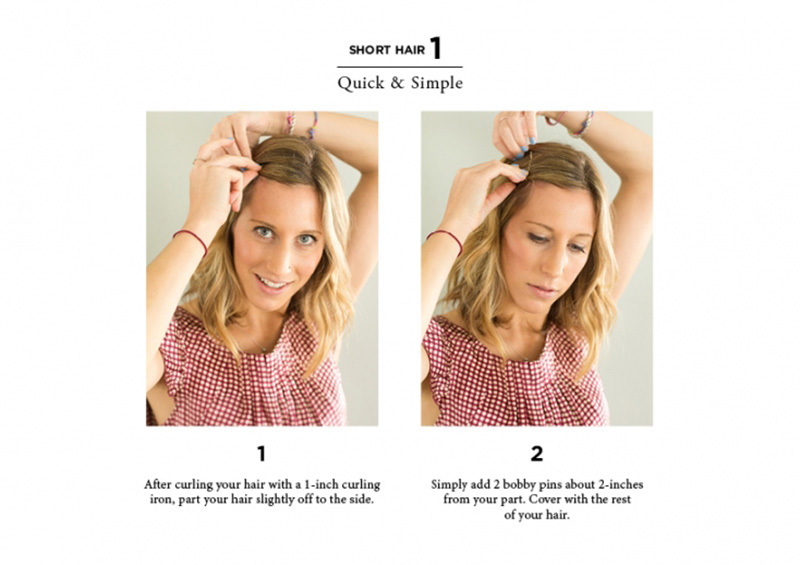 10 Easy Ways to Style Hair - The Everygi