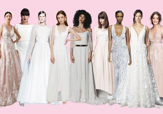 9 key wedding dress trends we're loving for 2020/2021 brides .