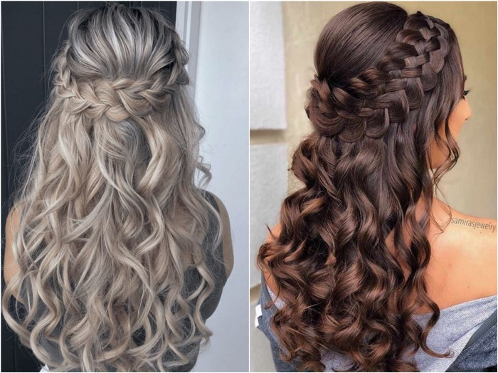 18 Braided Wedding Hairstyles for Long Hair - Oh The Wedding Day .