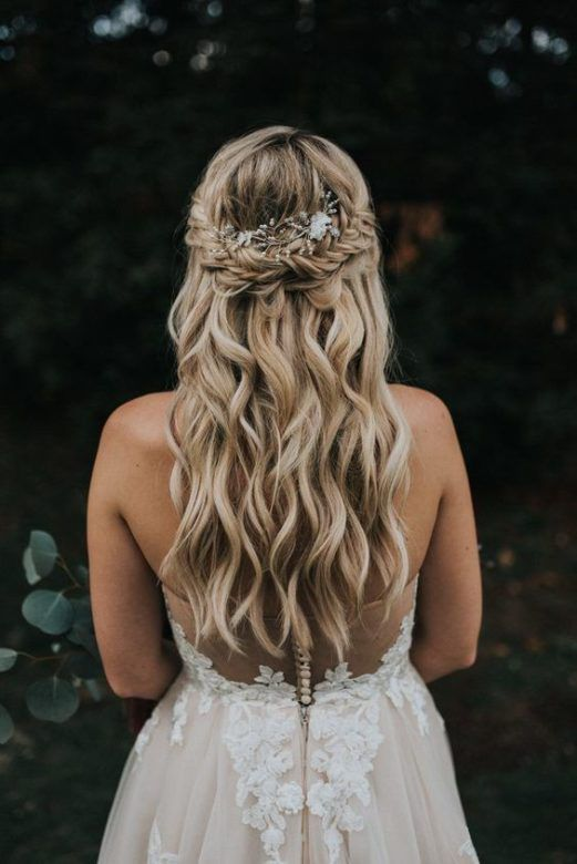 20 Hairstyles For Your Rustic Wedding - Rustic Wedding Chic in .