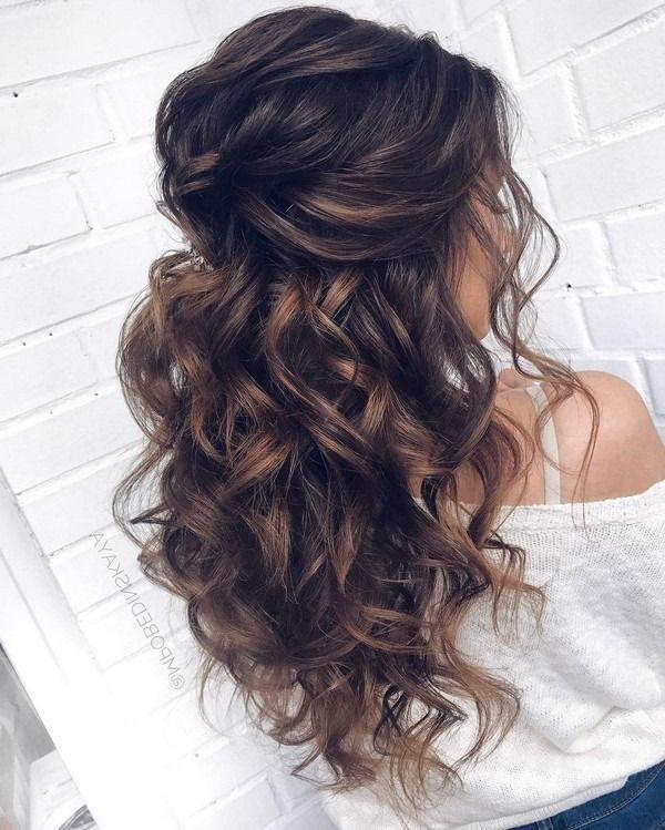 20 Long Wedding Hairstyles and Updos from mpobedinskaya | Long .