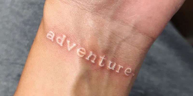 101 Cute White Ink Tattoos: Best Designs + Ideas (2020 Guid