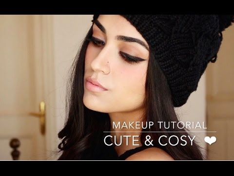 Winter Makeup Tutorial   Cute & Cosy ❤ - YouTu