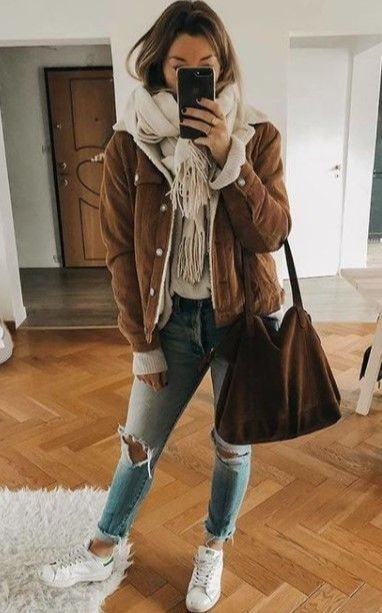 Cute Winter Outfits for Teenage Girls #outfitideas #fashionista .