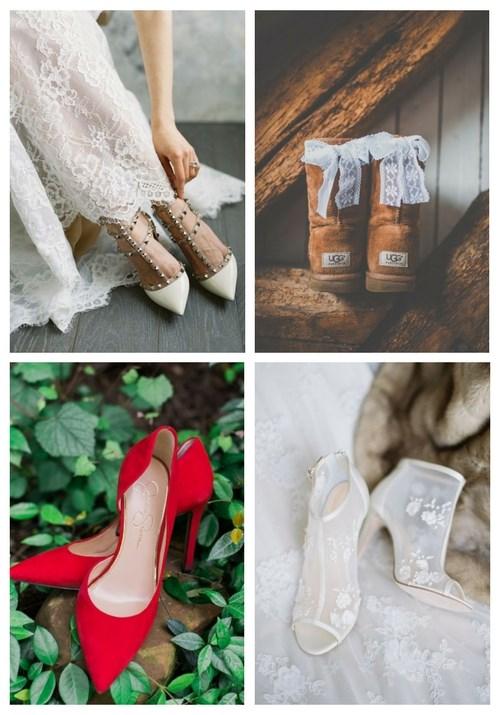 36 Winter Wedding Shoes Ideas | HappyWedd.c
