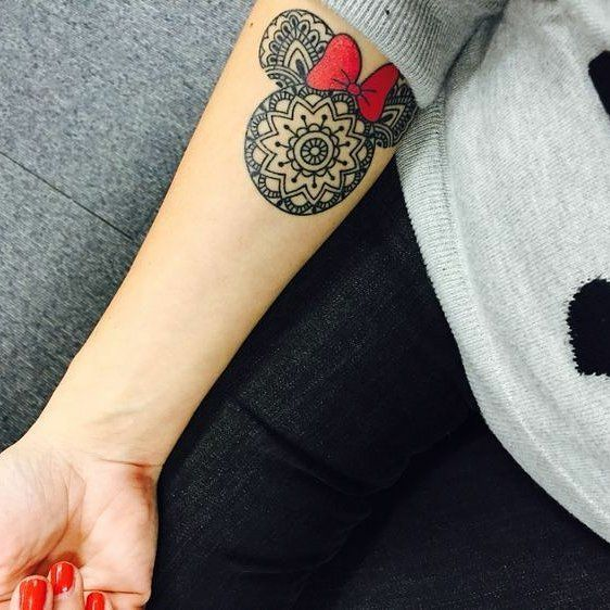 To the tattoo studio... AND BEYOND! | Mickey tattoo, Tattoos .