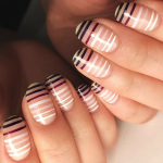 4th of July Patriotic Toe Nail Art Ideas
