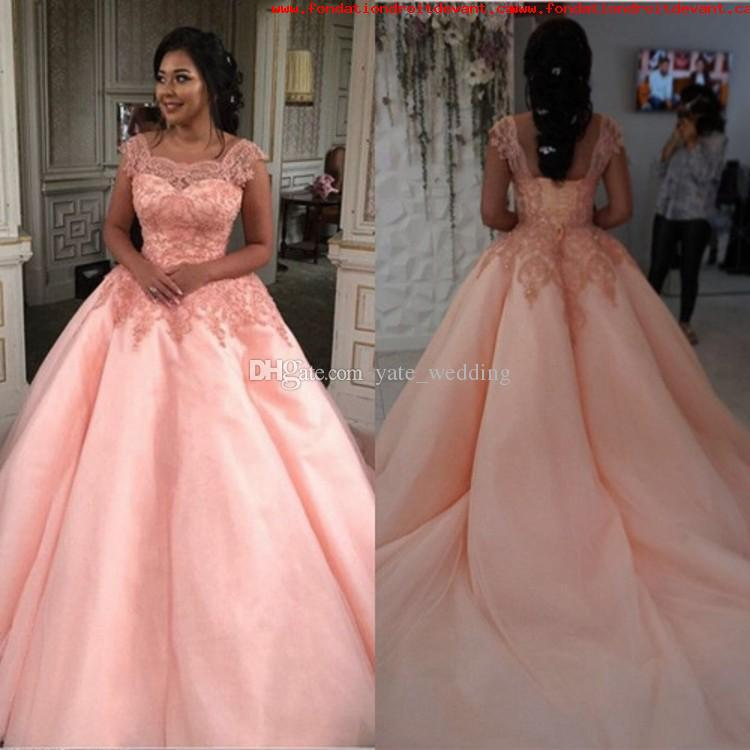 Alluring Blush Wedding Dresses