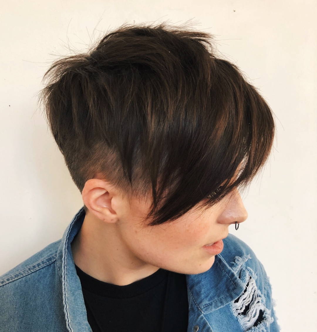 Androgynous Haircuts For Women