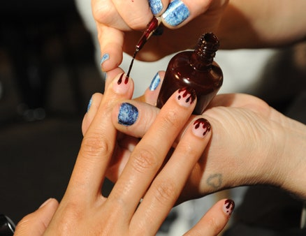Bold and Ultra Chic Metallic Nails