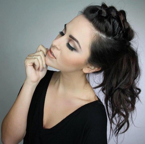 Charming Ponytail Hairstyles