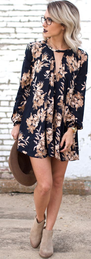 Cool Floral Print Outfits