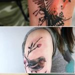 Cute and Artistic Bird Tattoo Designs