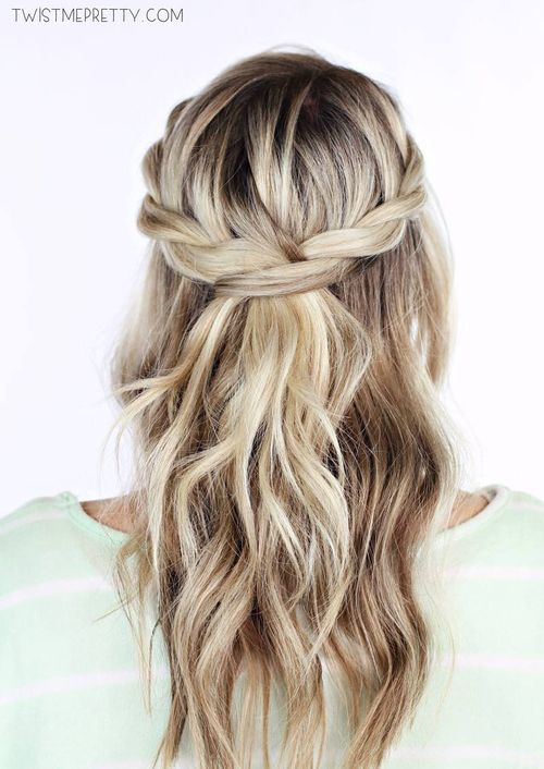 Easy Braided Hairstyle
