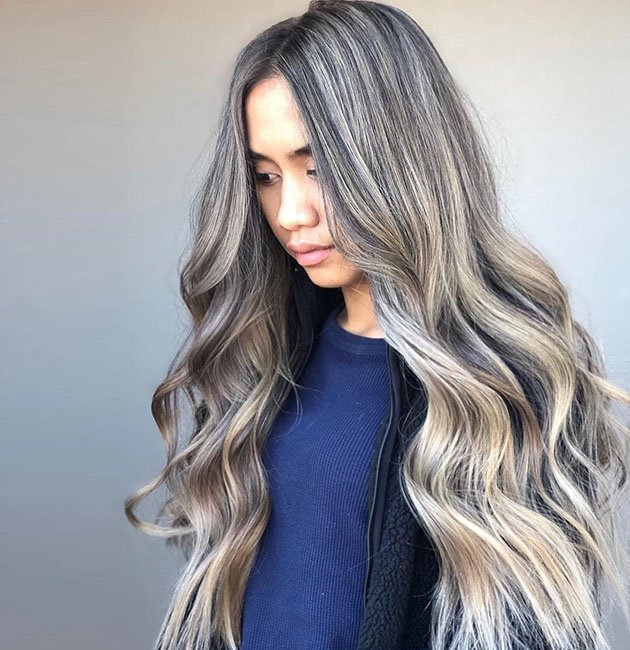 Elegant Ash Blonde Hair Hues