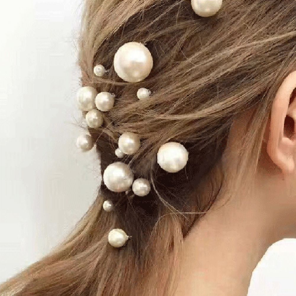 Elegant Pearl Bridal Hair Accessories
