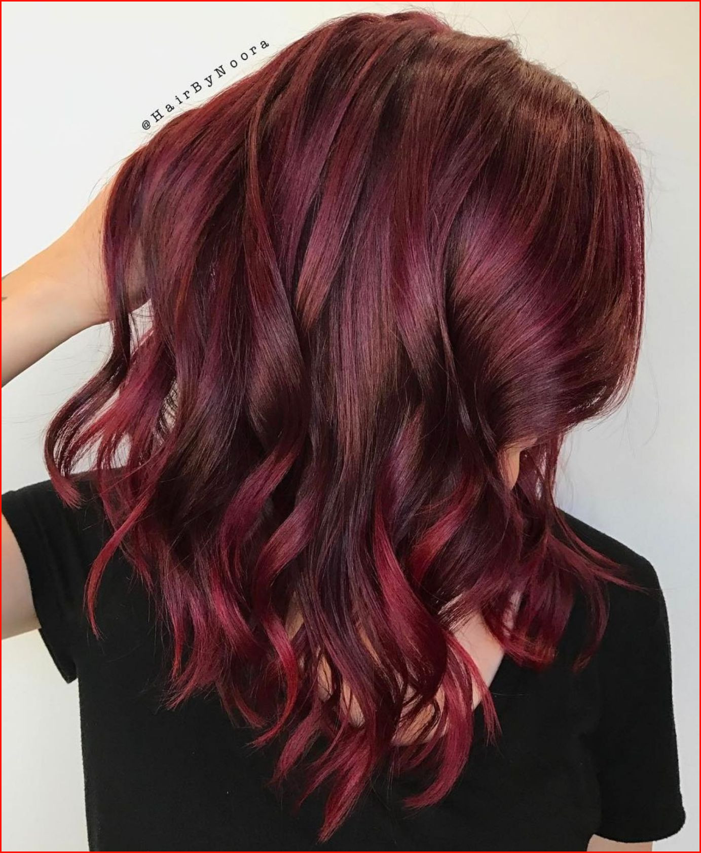 Exclusive Burgundy Hair Color Ideas