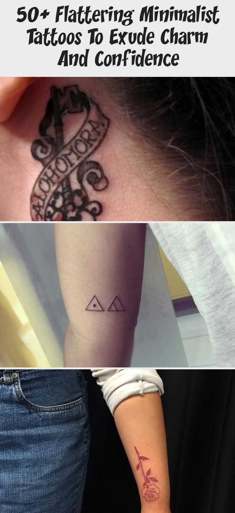 Flattering Minimalist Tattoos