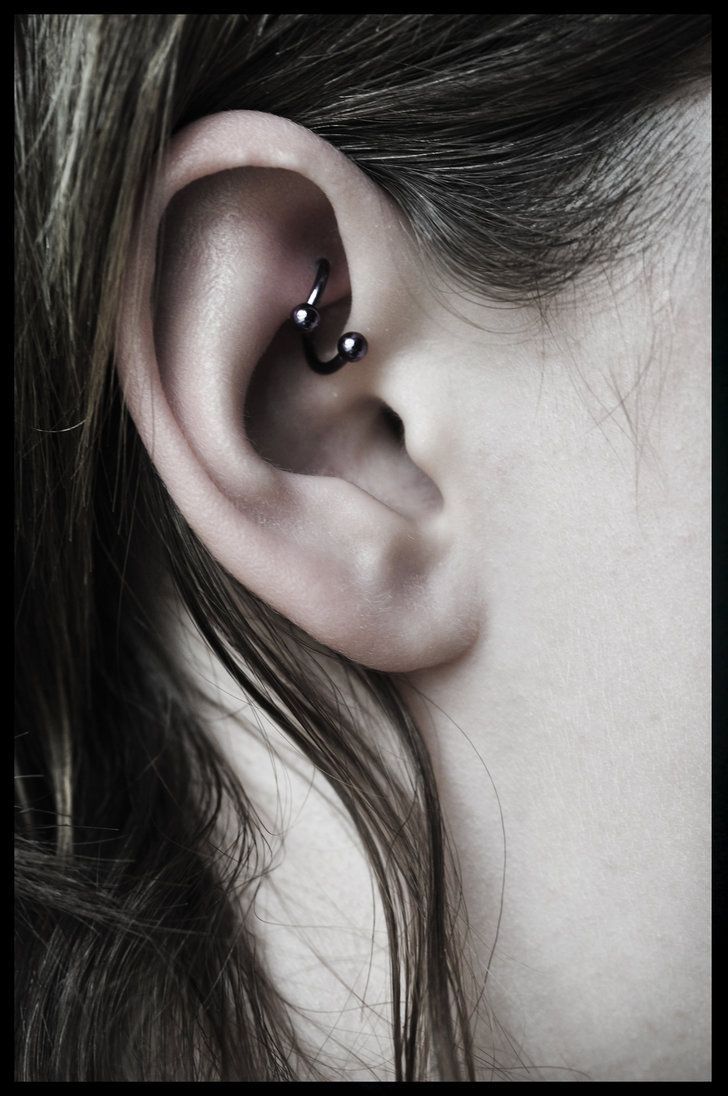 Freaky Cartilage Piercings