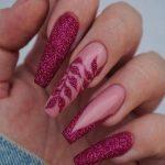 Glam Fall Nail Art Ideas