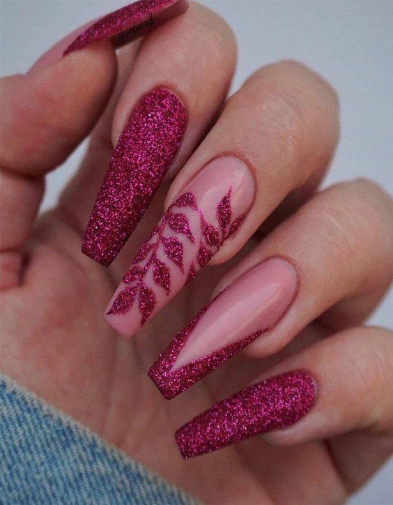 Glam Fall Nail Art Ideas