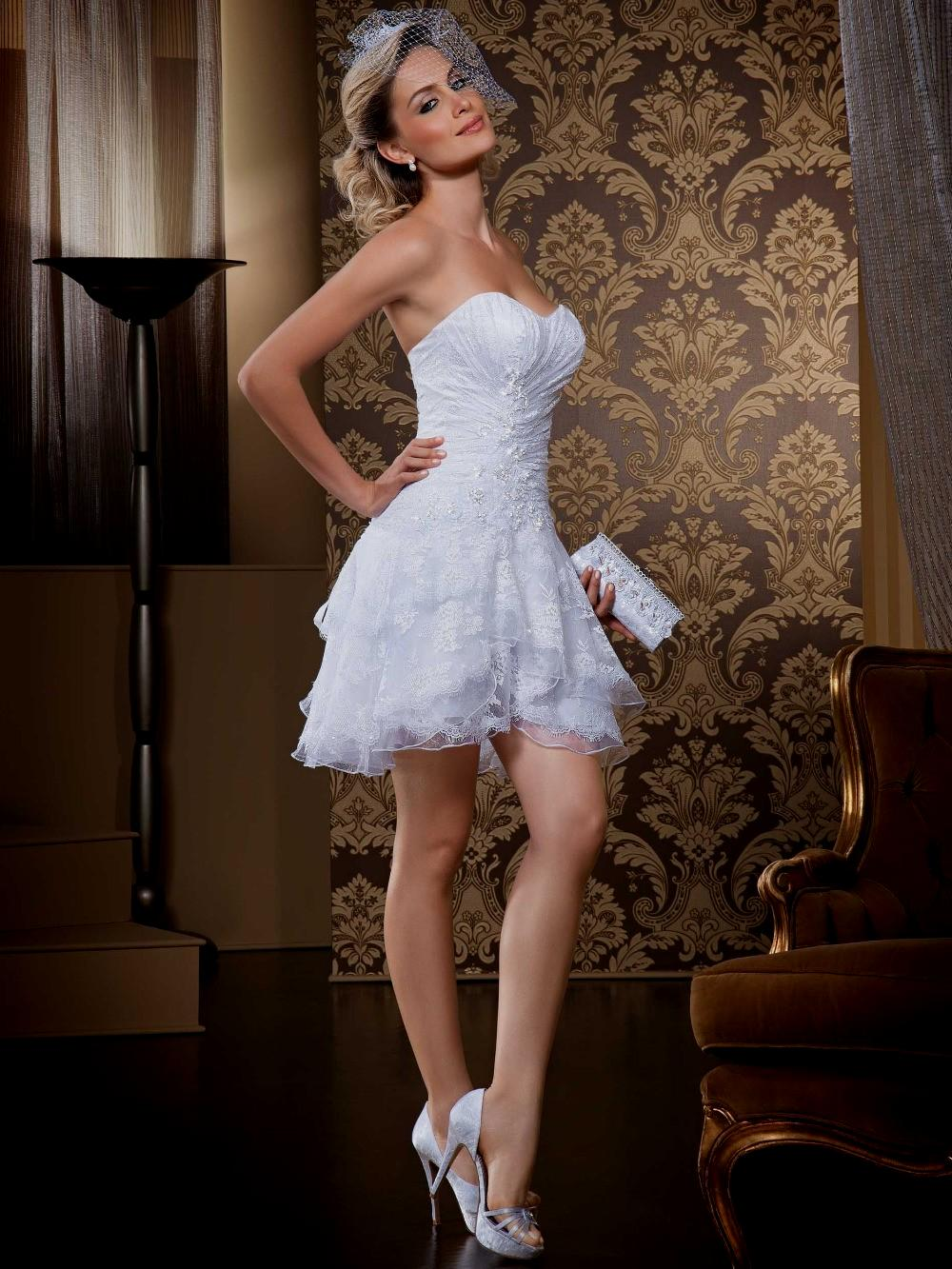 Gorgeous Short Wedding Dresses