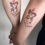 Inspiring Couple Tattoo Ideas