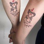 Inspiring Couple Tattoo Ideas
