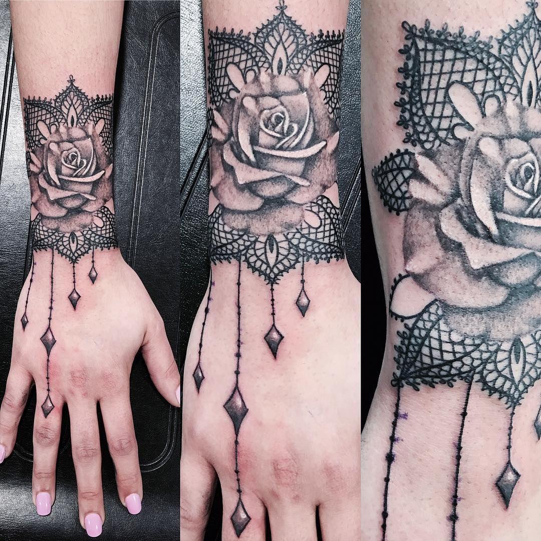 Lace Tattoo Ideas