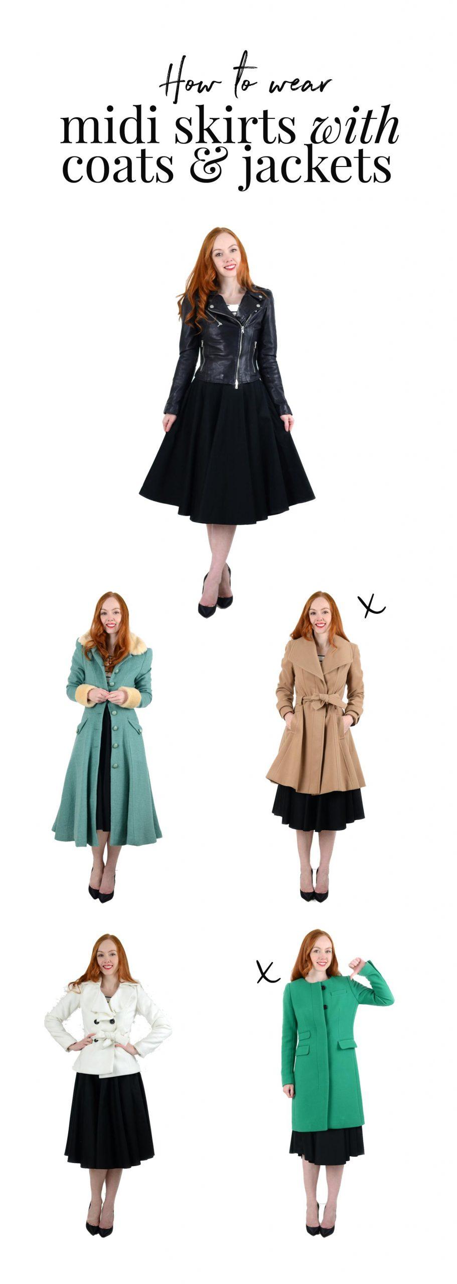 Lovely Winter Skirt Styling Ideas