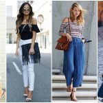 Off Shoulder Crop Top Styles