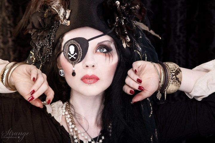 Pirate Makeup Ideas For  Halloween